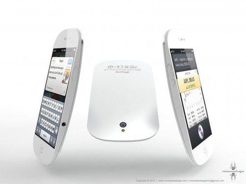 iPhone 5四大猜想:泪珠状 带LED苹果标识