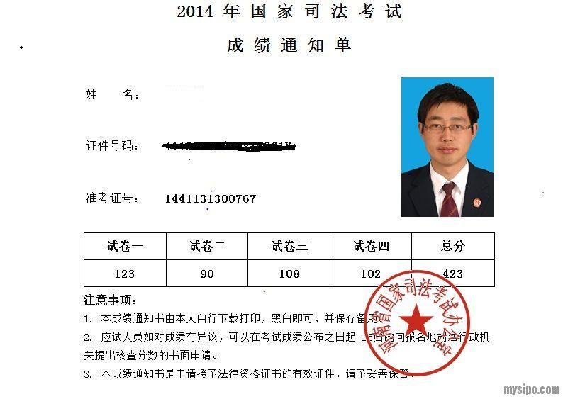 司法考试成绩通知书11.jpg