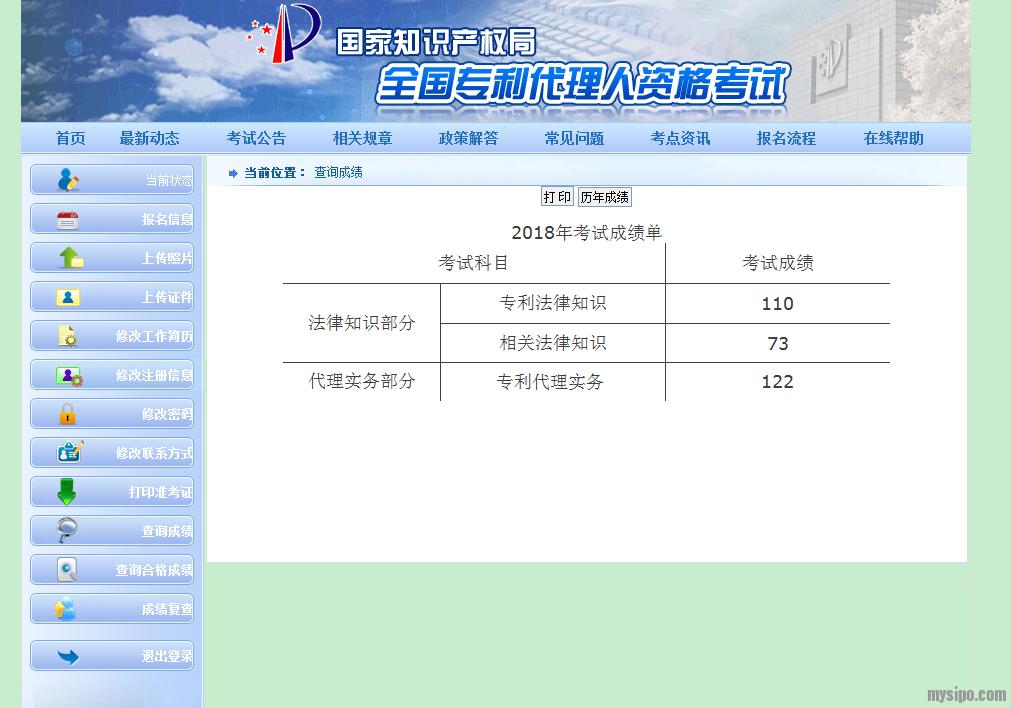 专利代理人资格考试成绩单.png